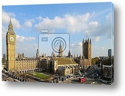 Big Ben, London, England, from Parliament Square