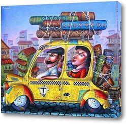 Картина Такси