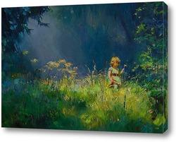 Картина Прогулка лесом