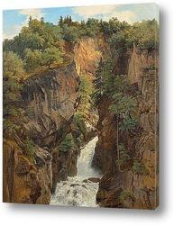 Картина Рейхенбахский водопад