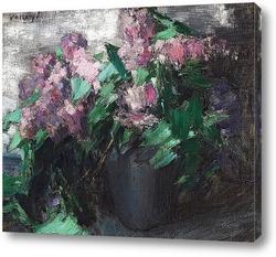 Три цветка в вазе