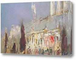 Картина Вестминстерский дворец