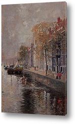 Постер Амстердам , 1891