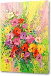 Постер Букет полевых цветов
