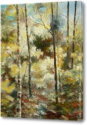 Картина Лесные заросли