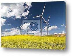 pannelli solari con girasoli