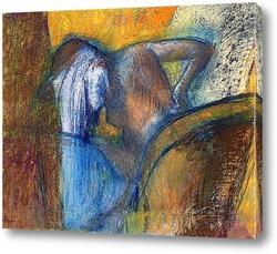 Картина Женщина вытирает волосы