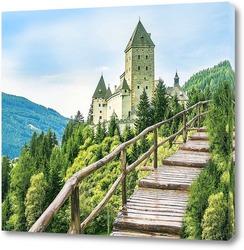 Постер  Вид на замок Моошем