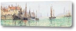 Картина Уитби гавань