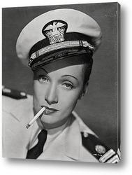 Портрет актриссы Марлен Дитрих.