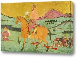 An old Radha Krishna paintings