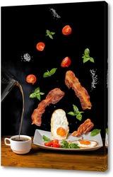 Постер Левитирующий завтрак