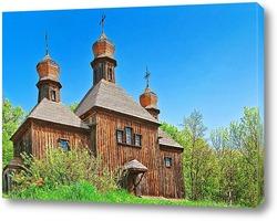Постер Старинная украинская церковь