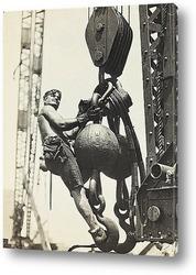 Постер На высоте Эмпайр Стэйт, 1930