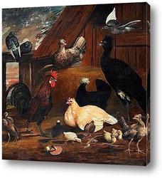 Натюрморт с птицами