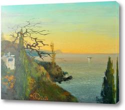 Картина Кипарисы у моря