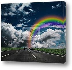 Постер Regenbogen