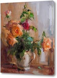 Постер Розы чайные.