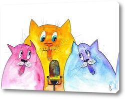 Постер Мартовские певцы