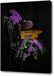 Сиринь с гитарой.