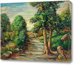 Картина Высокий мост
