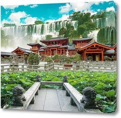 Постер Красочный сад