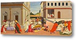 Картина Три чуда святого Зиновия