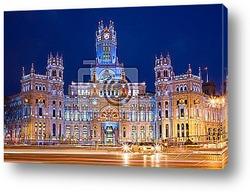 Постер Palacio de Comunicaciones in Madrid