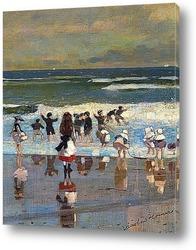 Картина Пляжная сцена