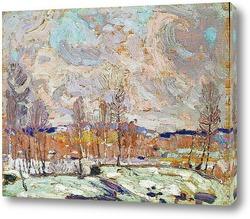 Весеннее половодье, весна 1917