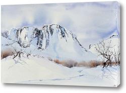 Картина Перевал Географов