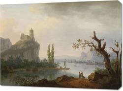 Картина Крепость на горе