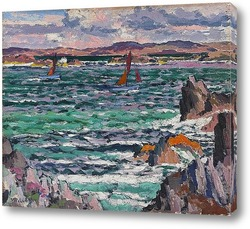 Картина Парусные лодки