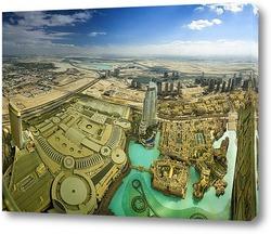 Dubai Downtown with Burj Khalifa
