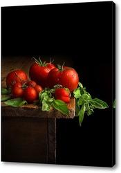 Постер Натюрморт с помидорами