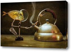 Постер Вомер и кипящий чайник