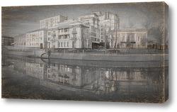 Постер Дома на набережной канала.