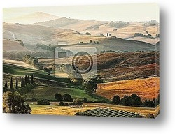 Постер Italian countryside in Tuscany