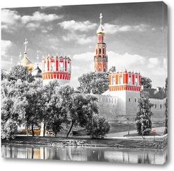 Постер Новодевичий монастырь в Москве