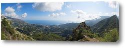 Панорама моря со смотровой площадки Сент-Анье.
