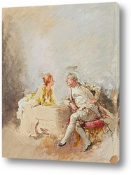 Постер Мужчина и женщина