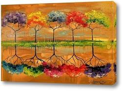 Картина Каждое дерево пахнет по своему