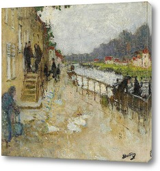 Канал в Сен-Мамес