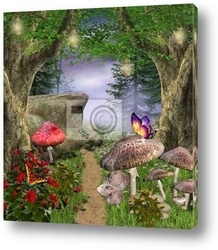 Постер Enchanted nature series - enchanted pathway