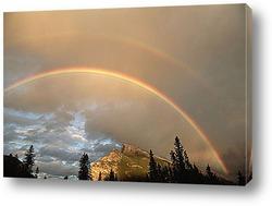 Rainbow in Alps