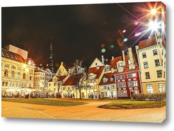 Картина Вечер в городе