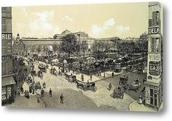 Картина Площадь