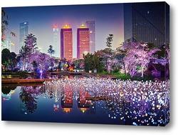 Постер Яркие цвета Китая