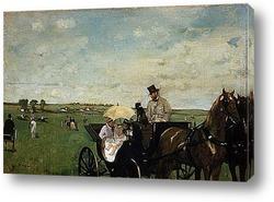 На загородных скачках.1872