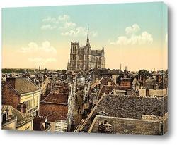 Постер  Амьен, Франция.1890-1900 гг